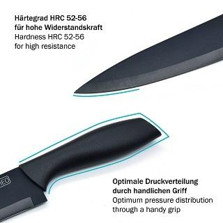 Das Küchenmesser mit 2 Jahre Garantie von GOURMEO SC-301 im Test und Vergleich bei Expertentesten