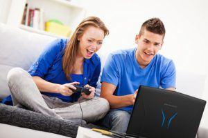 Welche Arten von Gaming Laptops gibt es in einem Test?