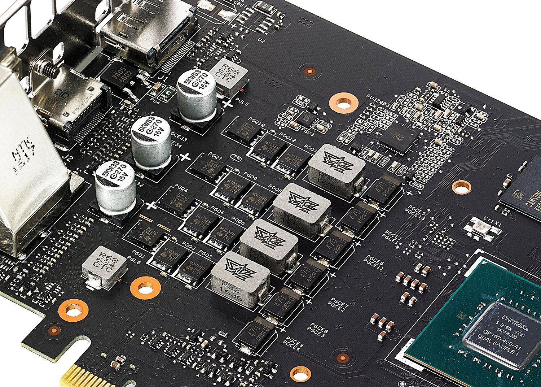 Grafikkarte Test - Grafikkarten-Platine und HDMI, DVI, Displayport