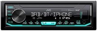 Das DAB Autoradio mit Bluetooth-Freisprechfunktion KD-X451DBT von JVC im Test und Vergleich