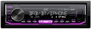 Das DAB Autoradio mit MOS-FET Verstärker KD-X451DBT von JVC im Test und Vergleich