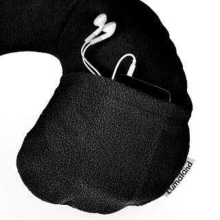 Das Reisekissen mit Smartphone-Tasche von Lumaland l5070h im Test und Vergleich bei Expertentesten