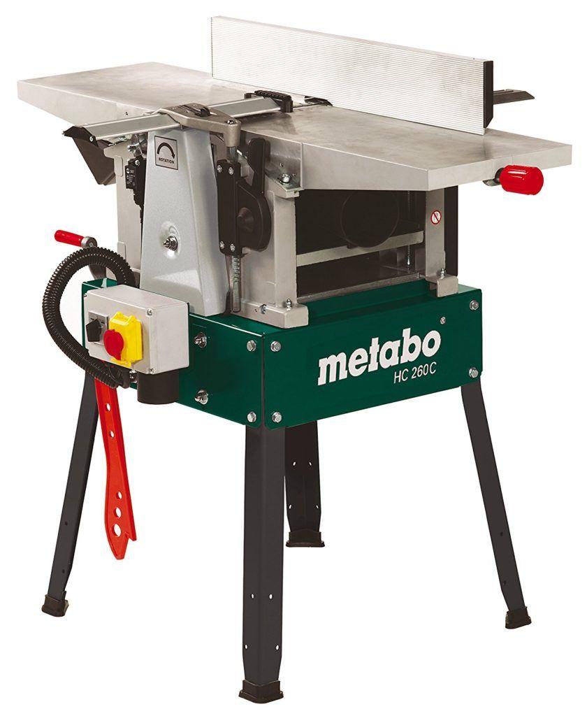 Im Test die Metabo Hobelmaschine HC 260