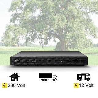 Anschluss von LG Mini Blu-ray-Player Anschluss im Test