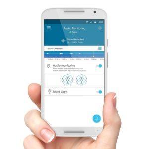 Motorola MBP 162 Connect, Mit Nachtlicht und Zwei Wege Kommunikation Funktionen