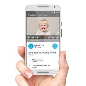 Babyphone Audio und Video Babyphon mit WLAN für iPhone mit QR-Code Überwachung