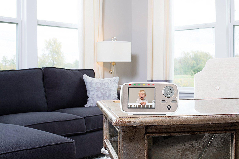 Motorola MBP 667 Connect WLAN Video Babyphone Baby-Überwachungskamera mit Farbdisplay 300 Meter Reichweite Test