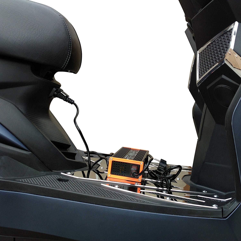 Motorroller Test - Batteriesystem des E-Rollers