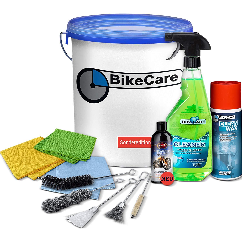 Motorroller Test - BikeCare Motorrad Pflege Set für gründliche Motorrad Pflege