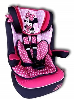 Der DISNEY I MAX Kindersitz Gruppe 1-3 hat ein kompaktes Design Test