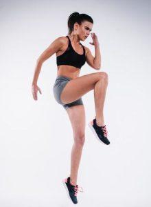 Online Fitness Studio Frau Training