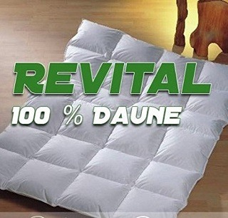 Die ReVital 24 4039754141451 Daunendecke Daune 100% im Test