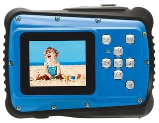 Bedienelemente von Rollei Sportsline 64 Unterwasserkamera im Test