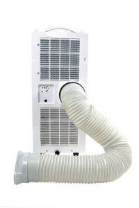 SUNTEC mobiles lokales Klimagerät weiß im Test mit Abluftschlauch