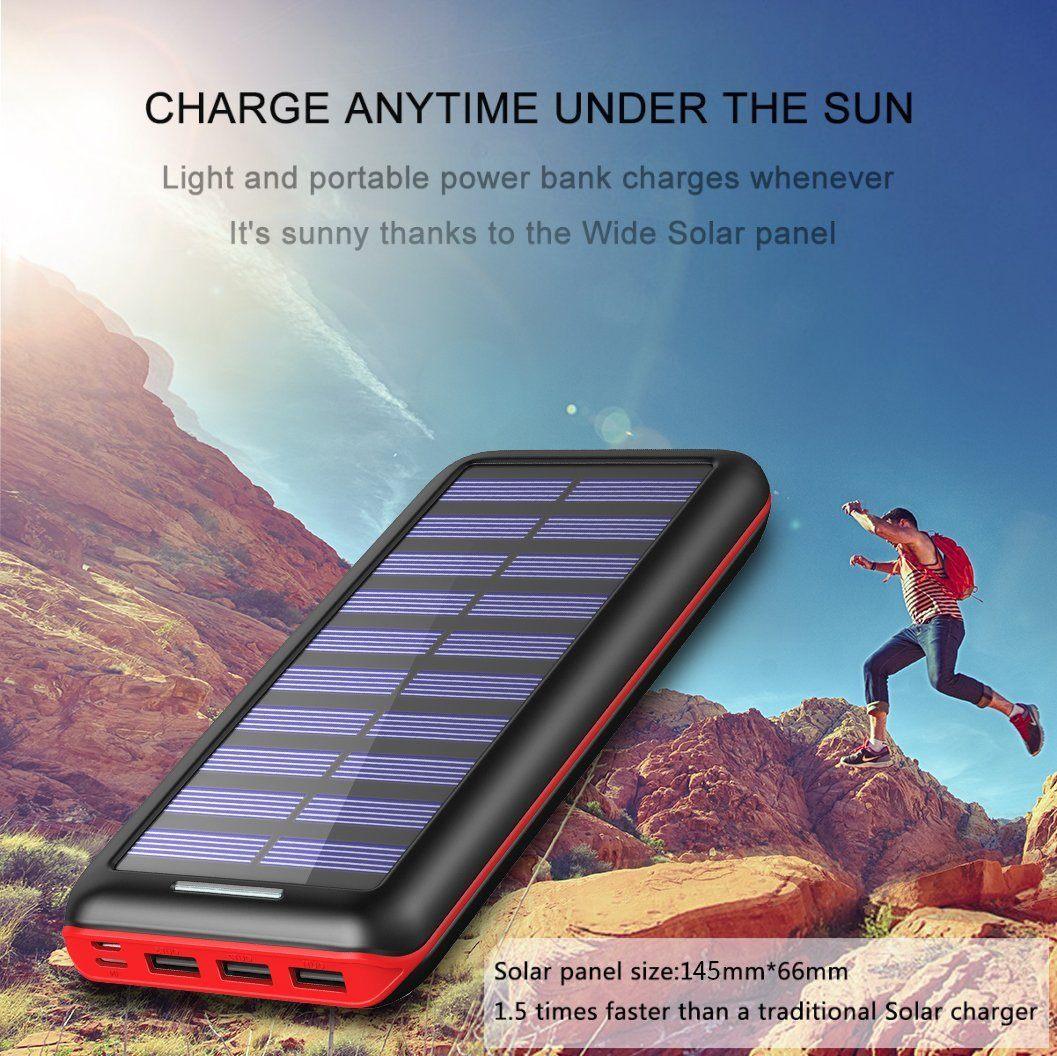 Solar Powerbank Test - die Ladegeschwindigkeit des Solar Powerbanks
