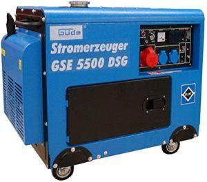 Stromerzeuger GSE 5500 DSG Silent Test