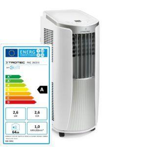 TROTEC 1.210.002.021 Lokales mobiles Klimagerät Klimaanlage Energielabel