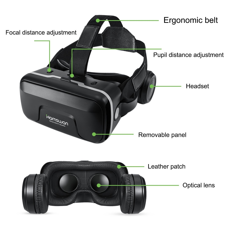 VR Brille Test - die wichtigsten Bestandteile und Bewegungsfreiheit von einer VR Brille