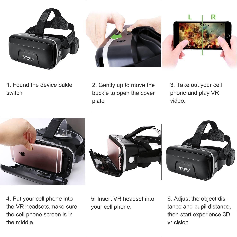 VR Brille Test Wie Man Smartphone Einstellt