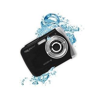 Bedienung von Easypix W1024-B Unterwasserkamera im Test