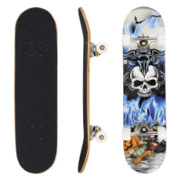 WeSkate Skateboard  Komplett Board  im Test