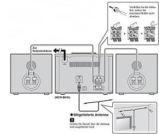 Die Kompaktanlage mit 2 Jahre Garantie von Yamaha MCR-B043DDGR im Test und Vergleich bei Expertentesten