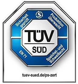 Prüfsiegel für CO-Melder vom TÜV Süd