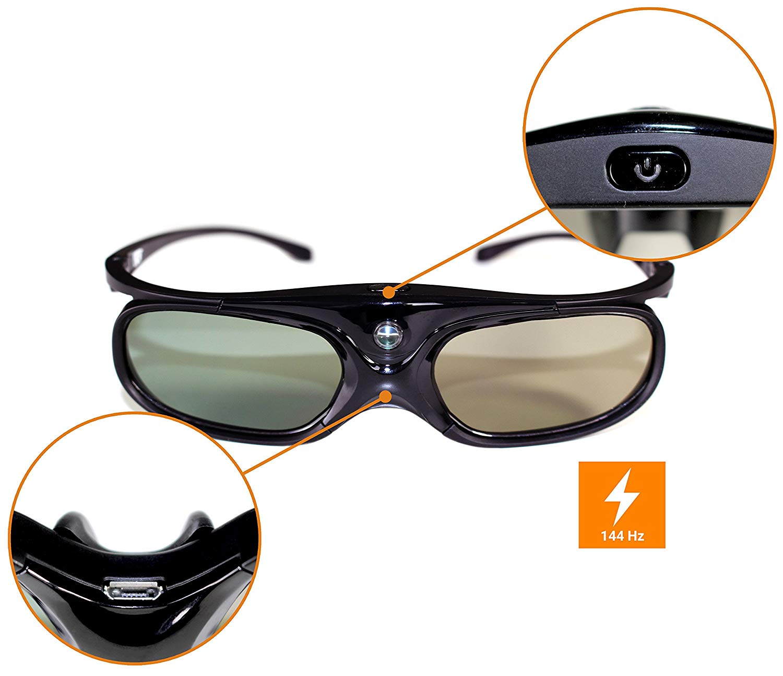3D Brille Test - Infrarot- oder Bluetooth-Verbindung