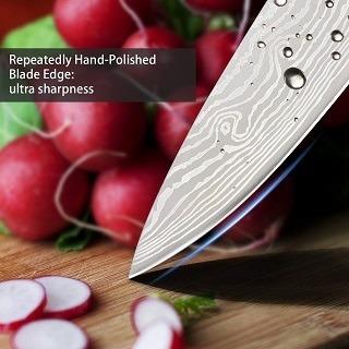 Das Küchenmesser mit edelstahl Klinge von Acelink Professional im Test und Vergleich bei Expertentesten