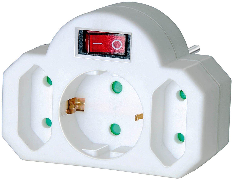 Adapter mit Schalter im Surround System Test