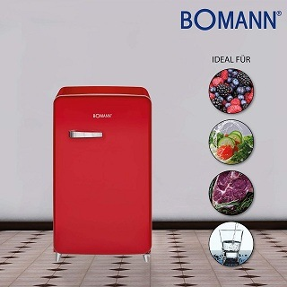 Lebensmittel im Bomann KSR 350 Kühlschrank Test