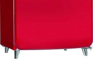 Stanfüße beim Bomann KSR 350 Kühlschrank im Test