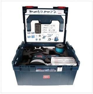 Koffer von Bosch Exzenterschleifer GEX 125-150 AVE im Test