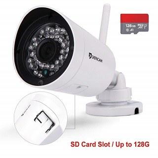 Die Dericam Full HD 1080P Überwachungskamera Benutzung im Test