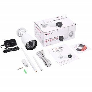 Die Dericam Full HD 1080P Überwachungskamera Verpackung im Test