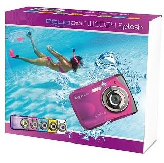 Verpackung von Easypix W1024 Unterwasserkamera im Test