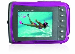 Display von Easypix W1024 Unterwasserkamera im Test