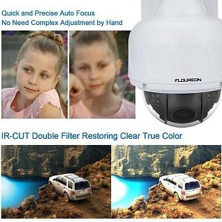 Die FLOUREON 1080P Dome IP Überwachungskamera Qualität im Test