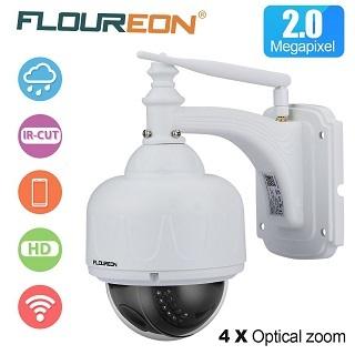 Die FLOUREON 1080P Dome IP Überwachungskamera im Test