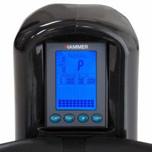 Hammer Trainingscomputer im Rudergerät Test