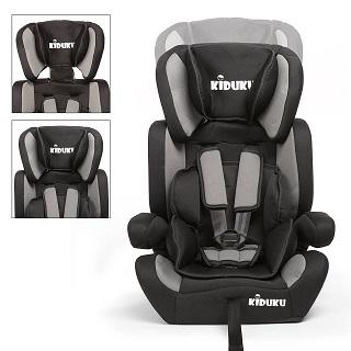 Der Kindersitz mit Seitenaufprallschutz von KIDUKU sport