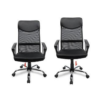 Der OFFICE Chefsessel ist sehr kompakt und platzsparend Test