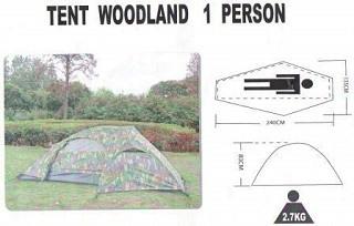 Das Recon 1 Person Zelt sieht sehr schön aus Test