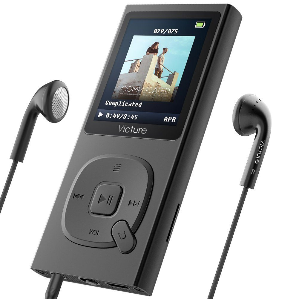 Portables Mp3 Player von Victure im Test