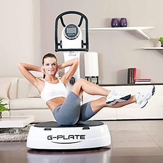 Alle möglichen Fitness-Übungen mit der POWRX Vibrationsplatte G-Plate HPS
