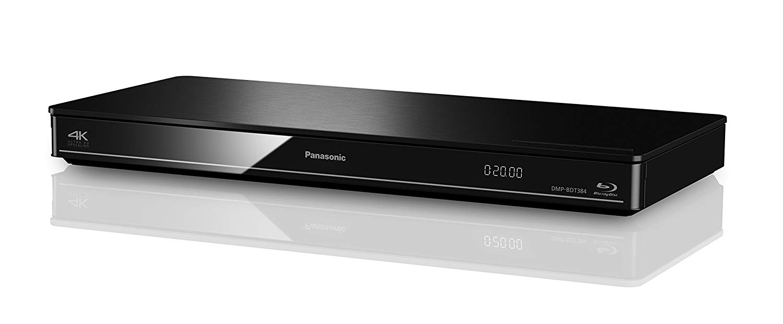Panasonic DMP-BDT384EG 3D Blu-Ray Player im Fernseher mit WLAN Test