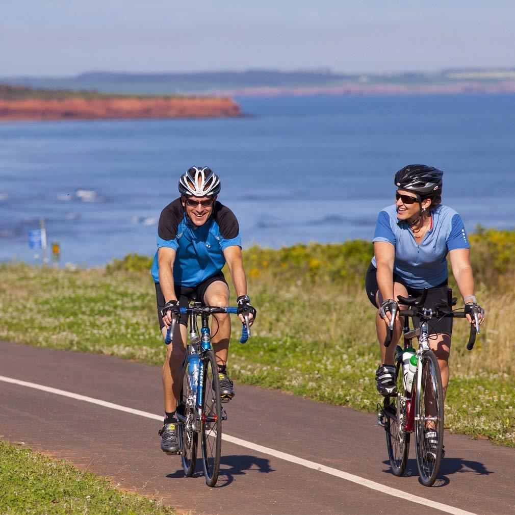 Rennrad Test - zwei Sportler testen die Rennräder