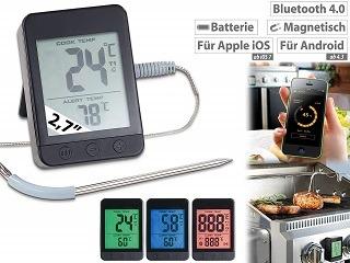 Der Grillthermometer mit Bluetooth von Rosenstein & Söhne NC3888-944 im Test und Vergleich bei Expertentesten