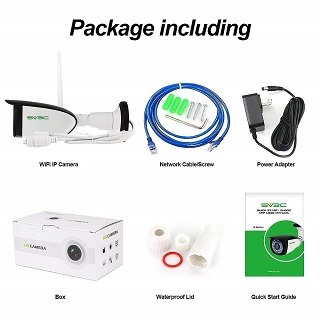 Die SV3C 1080P WLAN IP Überwachungskamera Verpackung im Test