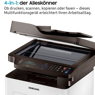 Der Samsung Xpress SL-M2675FN 4 in 1 im Test